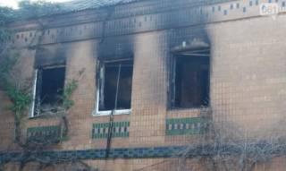 В Запорожье несколько человек сгорели заживо при пожаре в хостеле