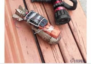В Ровно на автовокзале люди нашли мину с детонатором