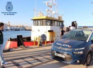 В Испании задержали судно с почти 4 тоннами кокаина