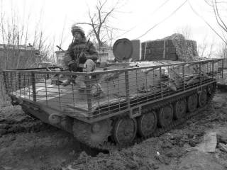 Украинский арсенал: артиллерийский тягач МТ-ЛБ