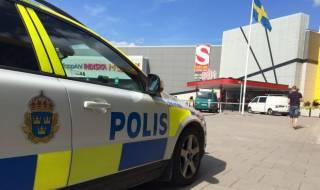 В Швеции неизвестный открыл стрельбу по прохожим. Есть пострадавшие