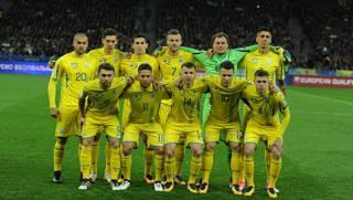 Сборная Украины по футболу рухнула в рейтинге лучших команд мира сразу на четыре позиции