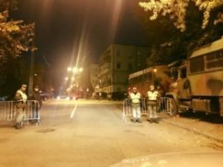 Киев в ожидании массовых акций. Нацгвардия наготове, правительственный квартал заблокирован