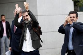 В Испании арестовали лидеров движения за независимость Каталонии
