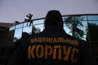 Националисты захватили вертолетную площадку Януковича. Порошенко и ГПУ в один голос уверяют, что это бессмысленно