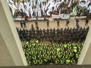 #Темадня: Соцсети и эксперты отреагировали на акцию протеста в центре Киева