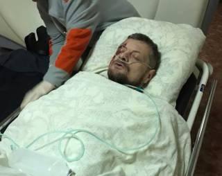 В Сети появились фото раненого Мосийчука. Погибшим оказался его охранник