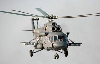 В районе Шпицбергена в море упал российский вертолет. На борту были ученые