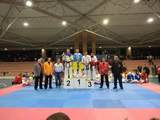 Украинская сборная завоевала 2 золотых и 2 серебряных медали на Чемпионате Европыпо Карате Киокушинкайкан