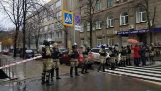 Неизвестный «заминировал» здание в Харькове, в котором детективы НАБУ проводят обыски