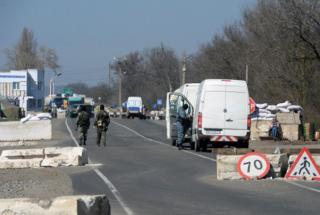 Россия закрыла границу между Крымом и Украиной. Говорят, что временно