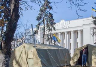 Охрана МихоМайдана обошлась бюджету в 43 млн. грн.