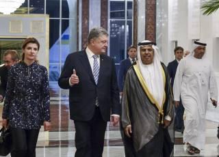 С декабря украинцы смогут ездить в Объединенные Арабские Эмираты без виз, – Порошенко