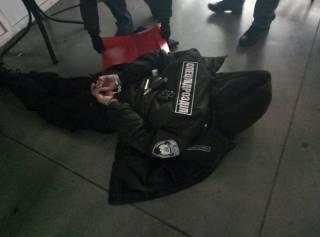 СБУ рапортовала о задержании россиянина, прятавшегося за формой сотрудника Национальной полиции