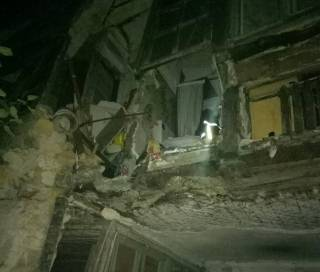 В Одессе рухнула стена многоквартирного жилого дома. Благо, обошлось без жертв