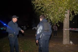 Около Днепра грабители забросали полицейских гранатами и начали стрельбу