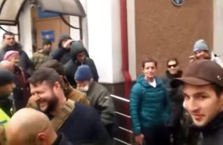 В центре Киева избили советника главы МВД Зоряна Шкиряка