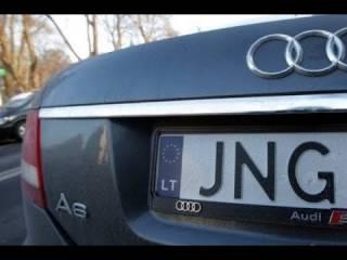В Литве заинтересовались законностью пребывания в Украине автомобилей с литовской регистрацией
