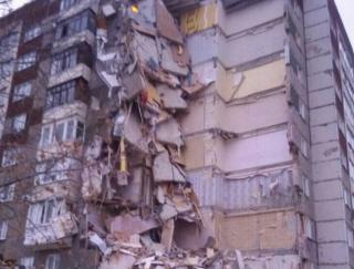 В российском Ижевске обрушилась многоэтажка