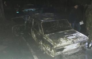 В Днепропетровской области из гранатомета обстреляли авто с полицейскими