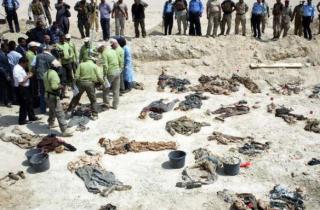 В Ираке обнаружили массовое захоронение жертв боевиков