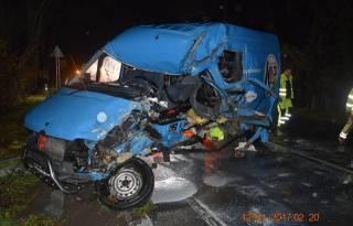 В Словакии в автобус с украинскими заробитчанами столкнулся с грузовиком. Один человек погиб, трое травмированы