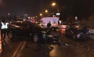 Ночью в Киеве чиновник МВД устроил пьяное ДТП со смертельным исходом