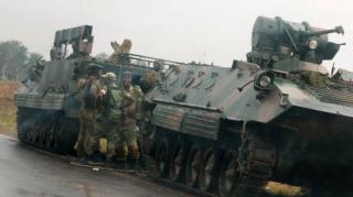 Армия Зимбабве захватила телевидение, арестовала президента и отрицает переворот