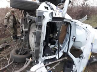 На Донбассе подорвался автомобиль полиции, погиб молодой майор