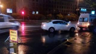 В Киеве российский дипломат на «зебре» сбил пешехода и пытался откупиться