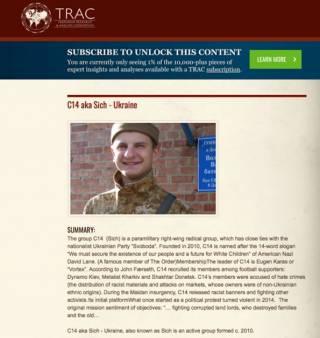 Тrackingterrorism приравнял украинских националистов к Аль-Каиде и ИГИЛ