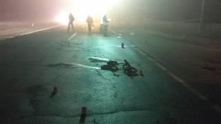 На трассе Киев-Чернигов водитель насмерть сбил женщину с двумя маленькими детьми