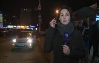 В Киеве мужчина застрелился прямо на остановке