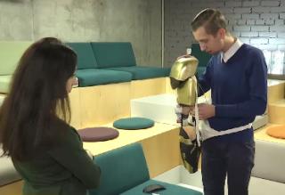 Парень из Украины создал уникальный прототип экзоскелета