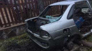 На Закарпатье взорвали автомобиль соратника Порошенко