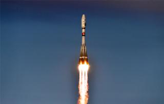 Российский спутник упал в Атлантический океан