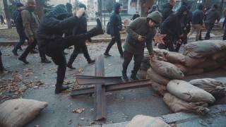 Активисты «Нацкорпуса» в Харькове разгромили съемочную площадку сериала о войне