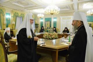 Патриарх Кирилл высказался по украинскому вопросу на Архиерейском Соборе РПЦ
