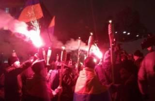В Киеве произошел силовой разгон активистов, протестующих против силового разгона «Евромайдана»