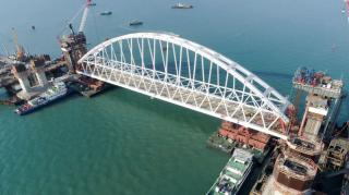 В Минюсте заявили, что все компании, причастные к строительству Керченского моста, ждут серьезные неприятности
