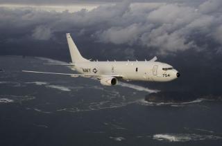 У берегов Крыма заметили американский разведывательный самолет