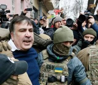 По поводу задержания Саакашвили