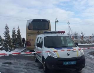 На Львовщине кто-то пытался взорвать автобус с польскими номерами