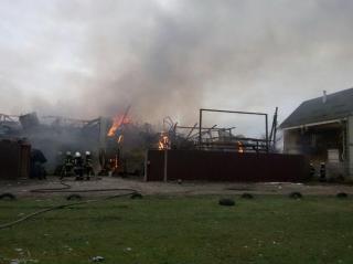 Крупный пожар на Русановских садах переполошил весь Киев