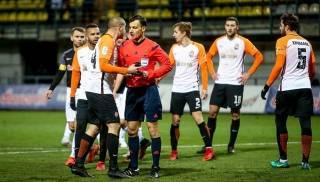 Судейско-«шахтерский» скандал в украинском футболе перерос в нечто большее