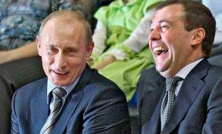 Говоря о военных расходах, Путин вспомнил очередной анекдот. На этот раз обошлось без «внешних половых органов»