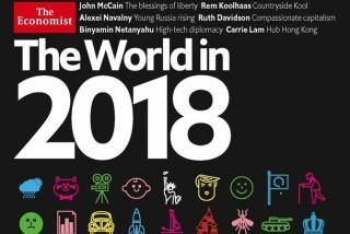 Эксперт «расшифровал» обложку-загадку The Economist на 2018 год