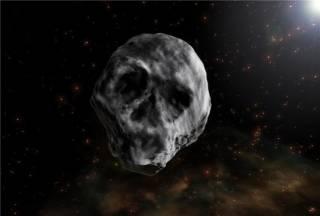 К Земле приближается «Хэллоуинский астероид», напоминающий человеческий череп