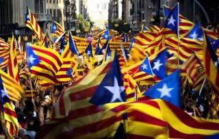 Каталонцы снова поддержали независимость региона