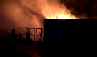В одном из старейших зоопарков мира произошел пожар